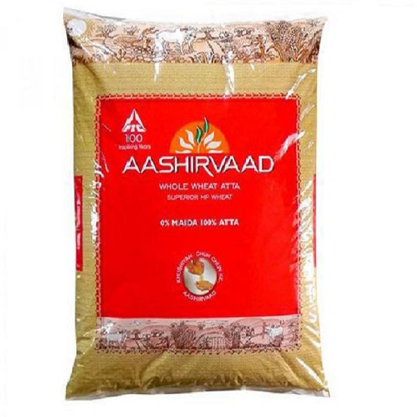 Aashirvaad Whole Wheat Flour 10Lb