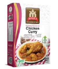 Malka Chicken Curry Masala 50g